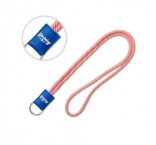 ML1007 - 2-tone lanyard with PVC badge. Min 100 pcs
